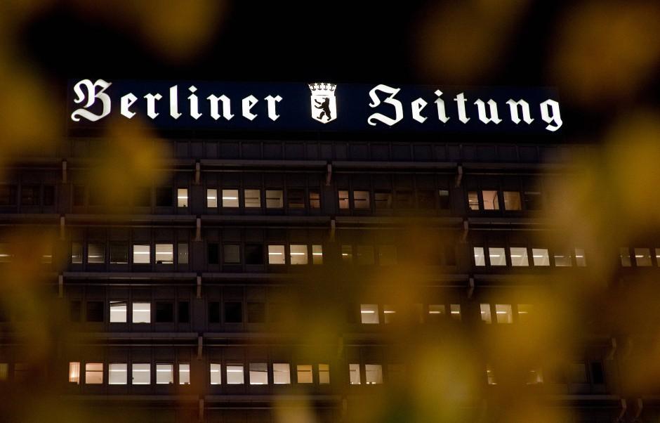 bild zu steht der berliner verlag vor einem neuanfang oder wird er zerschlagen bild 1 von 1. Black Bedroom Furniture Sets. Home Design Ideas