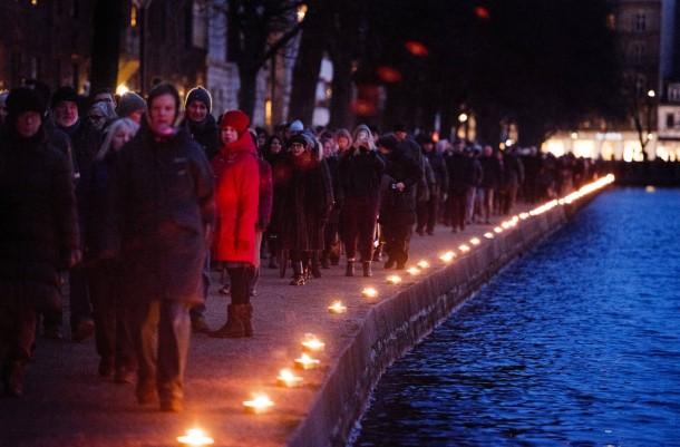 Commemoration of attacks