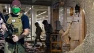 Den Bewaffneten gab es in der von Demonstranten besetzten Zone Seattles, Plünderungen auch, aber nicht alles auf einem Bild. Dafür sorgte Fox News.