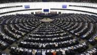Europa hat abgestimmt – und sich klar entschieden: Das Europäische Parlament gestern in Straßburg.