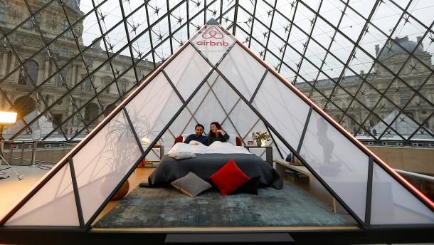 Ein Bett im Louvre