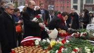 In Moskau: Gedenken an Stalins Opfer