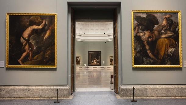 Warten auf den Prado