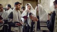 Jüdisches Gebet im Warschauer Ghetto.