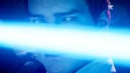 """Put on my blue suede sword: Ritter Cal muss sich in """"Star Wars Jedi: Fallen Order"""" nicht nur den ikonisch gewordenen Sturmtruppen, sondern auch der Frage stellen, ob die Macht noch mit ihm ist."""