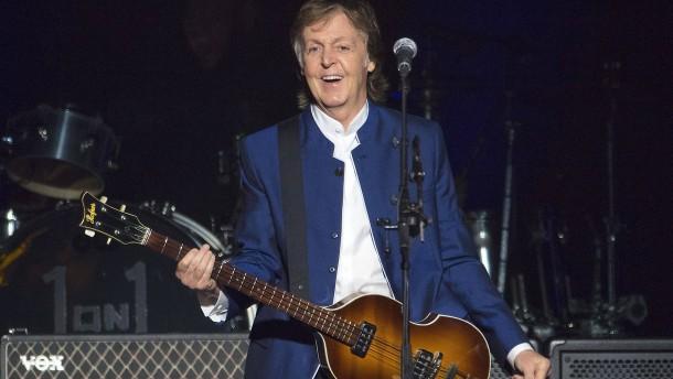 Paul McCartney gibt Geheimkonzert