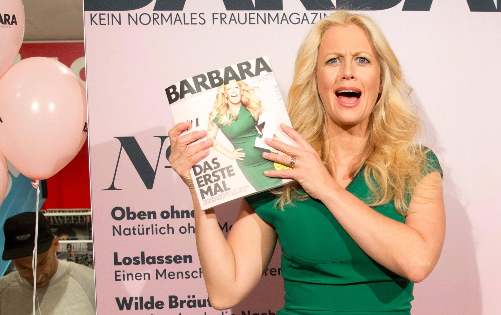 Schöneberg brust barbara Barbara Schöneberger:
