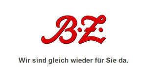 Website der B.Z. lahmgelegt