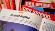 """Stein des Anstoßes: Der Artikel """"Jaegers Grenze"""", der im November dieses Jahres im """"Spiegel"""" erschien."""