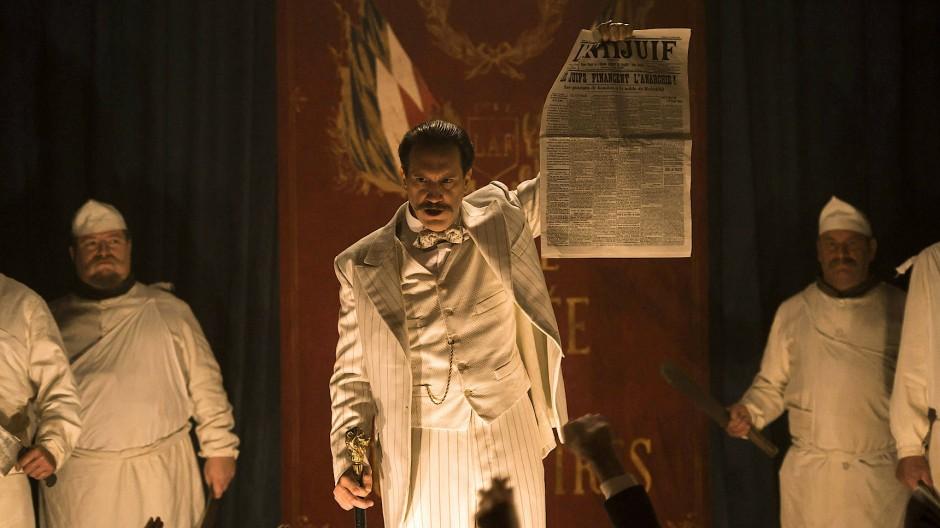 Giftspritze: Jules Guérin (Hubert Delattre) hetzt mit seiner Antisemitischen Liga gegen Juden.
