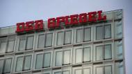 Das Spiegel-Verlagsgebäude an der Hamburger Ericusspitze.