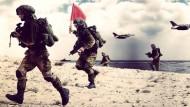 Im Internet sieht der Krieg einem Videospiel täuschend ähnlich. Auch bei der israelischen Armee