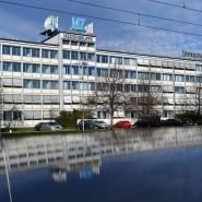 Halle (Saale): Blick auf das Hauptgebäude der Mediengruppe Mitteldeutsche Zeitung.