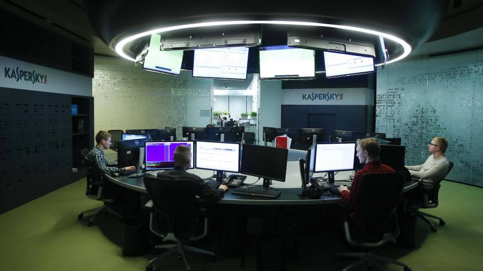 Was geht hier wirklich vor sich? Die Zentrale des Kaspersky Lab in Moskau.