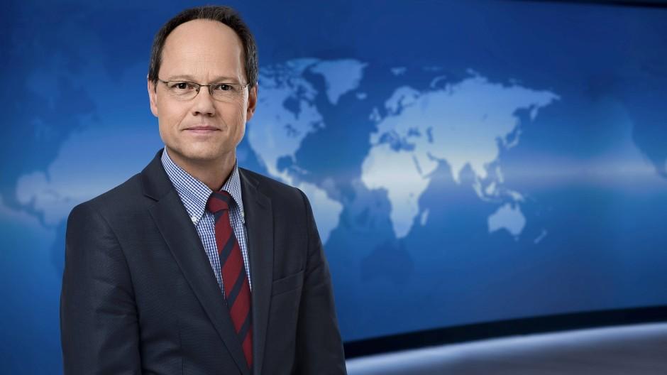 """Er weiß, was """"relevant"""" ist und was nicht: Kai Gniffke, der Chefredakteur von """"ARD aktuell""""."""