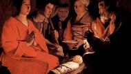 """So malte Georges de La Tour 1644 die """"Anbetung der Hirten""""."""