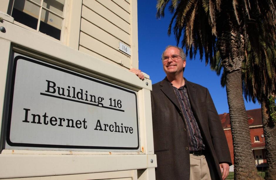 """Brewster Khale ist der Gründer der Organisation """"Internet Archive""""."""