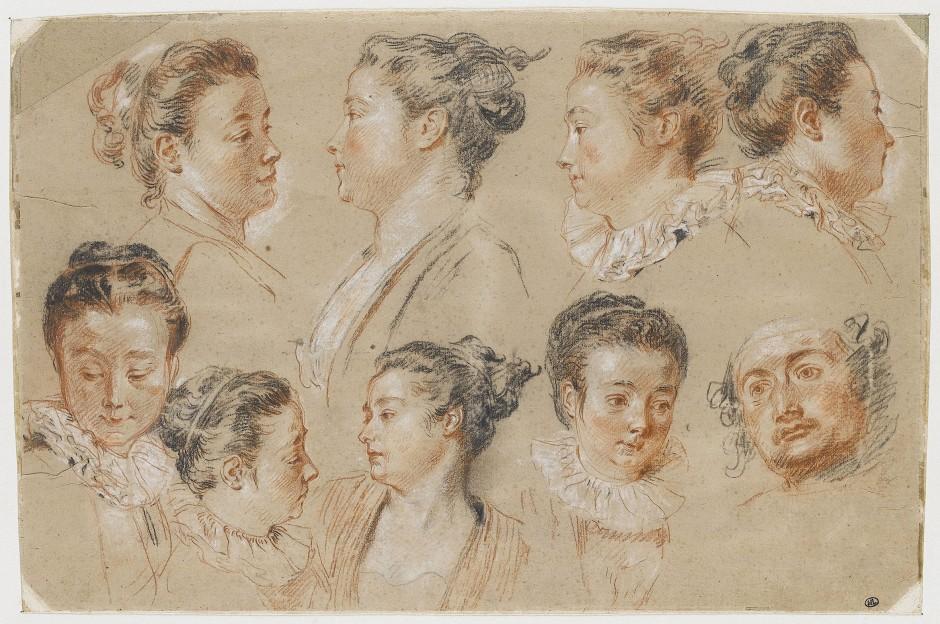 Dansez, embrassez qui vous voulez von Antoine Watteau.