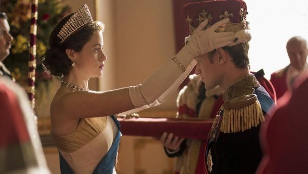 Sie trägt die Krone, ihn trägt es davon