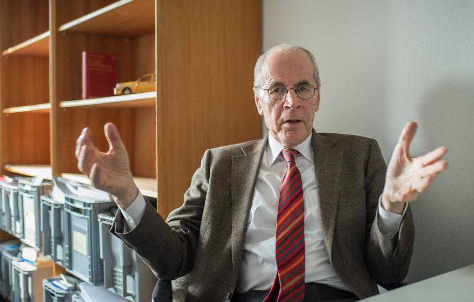 Christian Pfeiffer im März 2015.