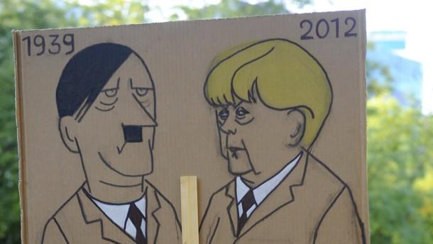 Hitler Merkel