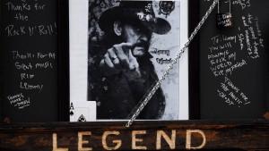Bewegender Abschied von Lemmy Kilmister