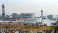 """Der Hafen von Barcelona. Auch bald eine """"intelligente Stadt""""?"""