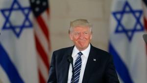 Trumps Israel-Diplomatie