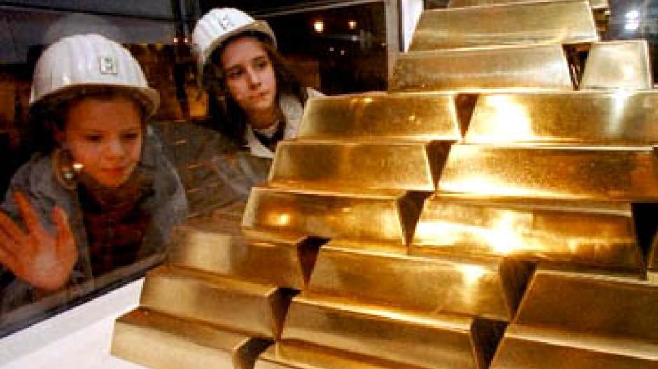 Seit Januar ist der Preis der Unze Gold in Euro um gut elf Prozent gestiegen
