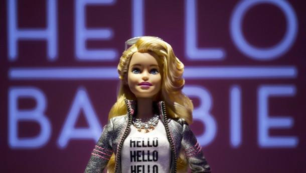 Wenn Barbie auf Siri trifft
