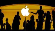 Apple: Einer der größten Rückkäufer eigener Aktien. Einige Experten sehen darin ein Indiz mangelnder Perspektiven.