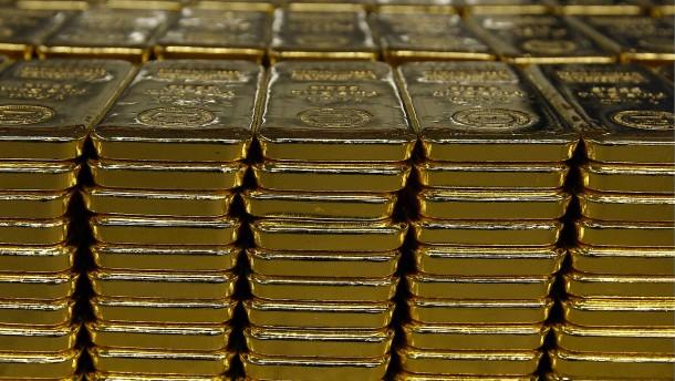 Nachfrage nach Goldbarren und -münzen steigt um 36 Prozent