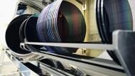 Waferproduktion bei Infineon