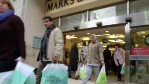 Aktie von Marks & Spencer droht ein Seitwärtstrend