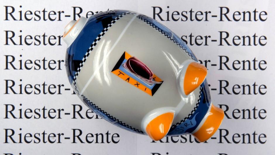 Die Riester-Rente war bisher in Deutschland beliebt.