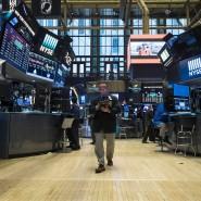 Vorwärts immer, rückwärts nimmer: Händler in der New Yorker Börse