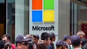 Microsoft verdient weniger