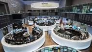 Die Frankfurter Börse. Viele junge Unternehmen wollen vom Kapitalmarkt langfristig profitieren.