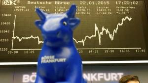 Dax knackt nach EZB-Entscheidung 10.700 Punkte