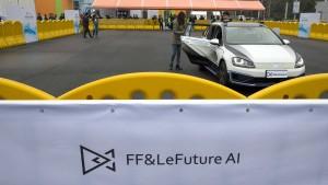 China testet Roboterautos im Straßenverkehr