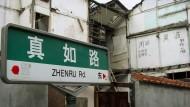 Schanghai will englischsprachige Straßenschilder entfernen