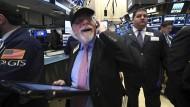 Dow Jones steigt erstmals über 21.000 Punkte