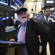 Die Hausse der amerikanischen Börsen freut die Anleger.