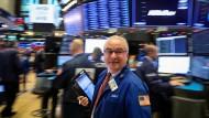 Aktienhändler an der Wall Street