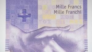 Die Schweizer horten immer mehr Bargeld