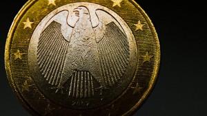 Schuldenaufnahme für deutschen Staat wieder teurer