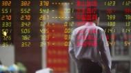 Börse in Shanghai