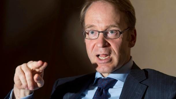 Bundesbank-Praesident mahnt Griechen zu weiterem Sparen