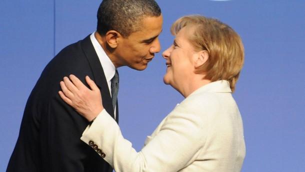 Merkel in Amerika