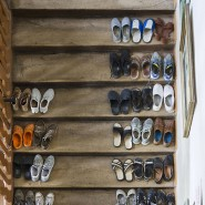 Mittlerweile gehören sie zum Treppenhaus wie Fußabtreter.